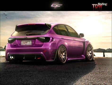 purple subaru wagon subaru impreza love the colour wrx sti pinterest