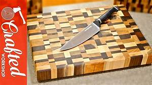 End Grain Cutting Boards from Scrap Wood How-To - YouTube
