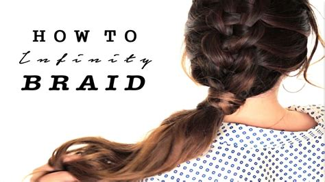 how to zipper braid your own hair tutorial cute