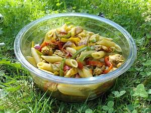 Salade Poulet Avocat : salade de p tes poulet poivrons avocat curry quand ~ Melissatoandfro.com Idées de Décoration