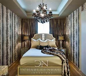 Luxurious Bedroom design in a small space - - Charles Neal