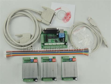 Cnc Mach Router Axis Kit Stepper Motor