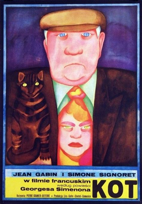 jean gabin film kot 316 best polish movie posters images on pinterest cinema