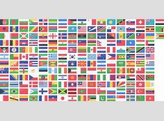 Clipart Countries flags