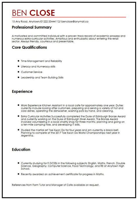 Cv Sample For Teenagersmyperfectcv. T Shirt Order Form Template Word Template. Microsoft Word Templates Agenda Template. Treatment Plan Template Word Pdf Excel. Nursing Student Resume Example Template