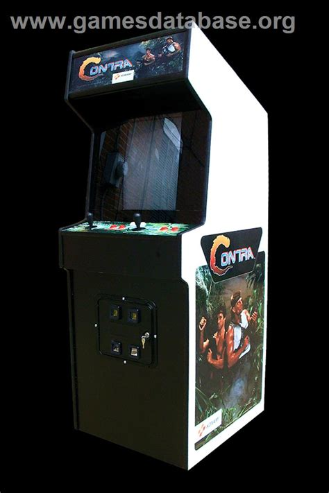 Contra Arcade Games Database