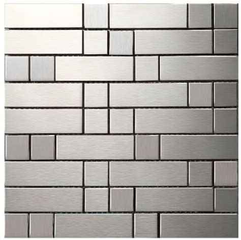 kitchen backdrop tiles metal mosaic stainless steel tile kitchen backsplash 2197