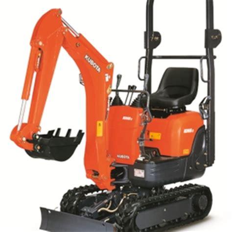 kubota  mini excavator rental  toronto