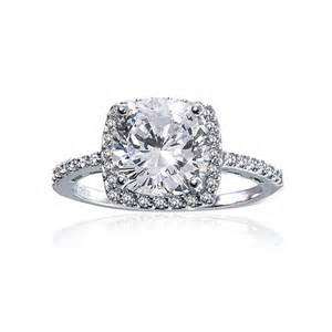 Sterling Silver Vintage Style Engagement Ring