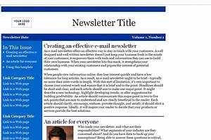 email newsletter templates slim image With newsletter templates for outlook