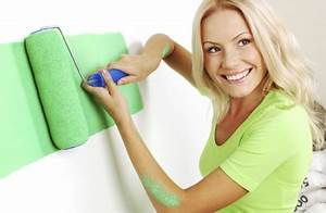 Wandfarbe Zum Sprühen : wandfarbe spritzen oder rollen pro und contra ~ Orissabook.com Haus und Dekorationen