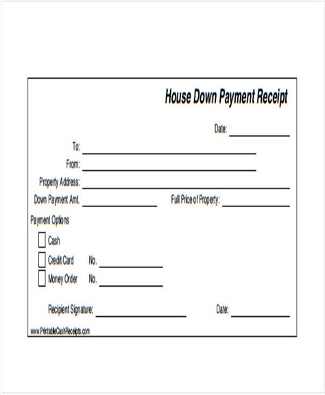 payment receipt samples  ms excel ms word