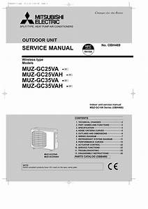 Mitsubishi Electric Air Conditioner Manual G Inverter