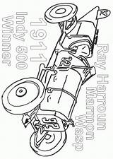 Coloring Indy Course Coloriage Dessin Voiture Cars Popular sketch template