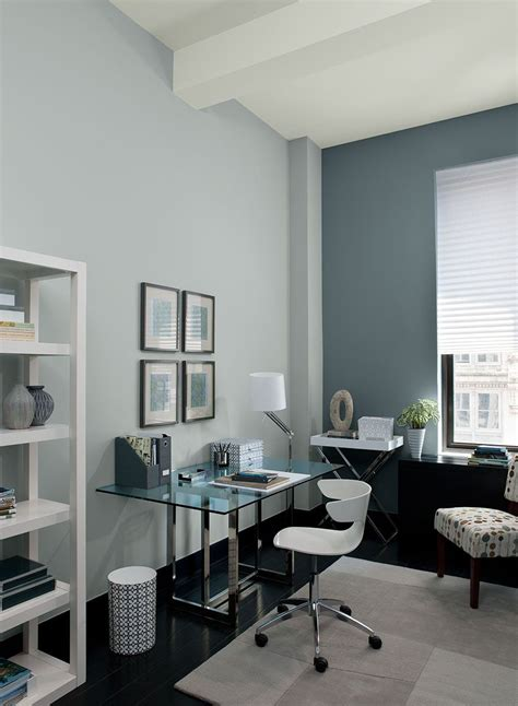 colour  room   gray home offices home office