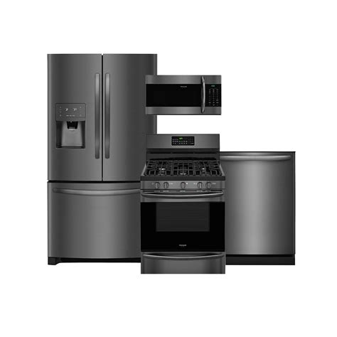The New Frigidaire Gallery® Smudgeproof™ Black Stainless
