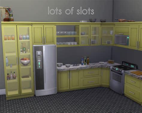 mod the sims sumptuous kitchen set