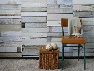 Papier Peint Trompe L Oeil Bois : faux mur nu vraie d co joli place ~ Premium-room.com Idées de Décoration