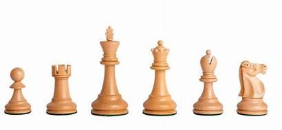 Chess Reykjavik Pieces Ii King Wood Ebonized