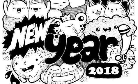 Gelukkig Nieuwjaar 2017 Kleurplaat by Anti Stress Kleurplaten Nieuwjaar 2018 3
