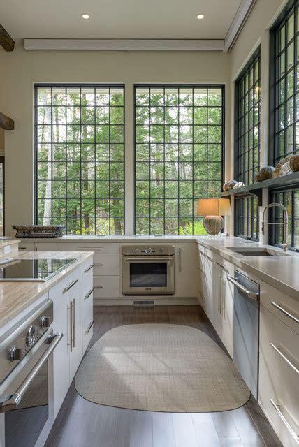 pella windows reviews Kitchen Transitional with bar pulls large windows natural light tall