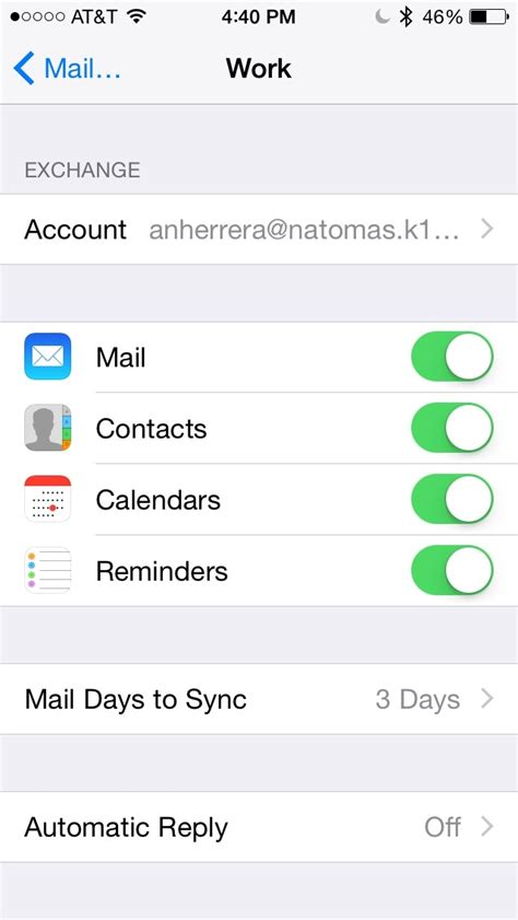 how to set up school email on iphone how to set up work email on iphone how to set up your work