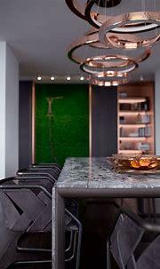 PecherSky apartment on Behance   Modern apartment living ...