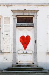 Heart Front Door