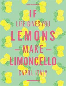 1000+ images ab... Limoncello Quotes