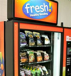 Editorial Vending Machine Food Adds Up To Poor Health