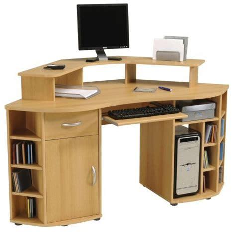 bureau ordinateur d angle meubles informatique d angle