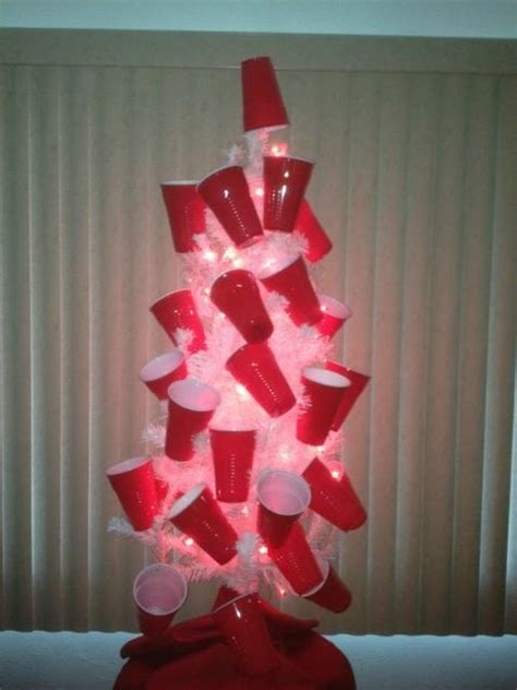 red solo cup tree red solo cups pinterest