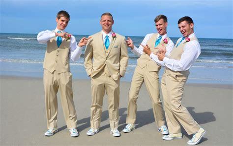 Groom Beach Wedding Attire in St. Augustine Beach