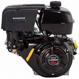 Lifan 1 In  15 Hp 420cc Ohv Recoil Start Horizontal Shaft