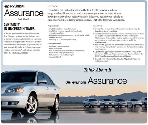 Hyundai Assurance Program by Hyundai Assurance Customer Satisfaction And Hyundai Assurance