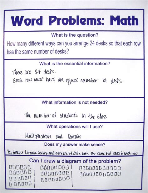 Resume Another Word For Problem Solving by Grades K 5 Activity Solving Word Problems