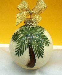 Caribbean Christmas Ornaments by Diane Artware Island Gifts