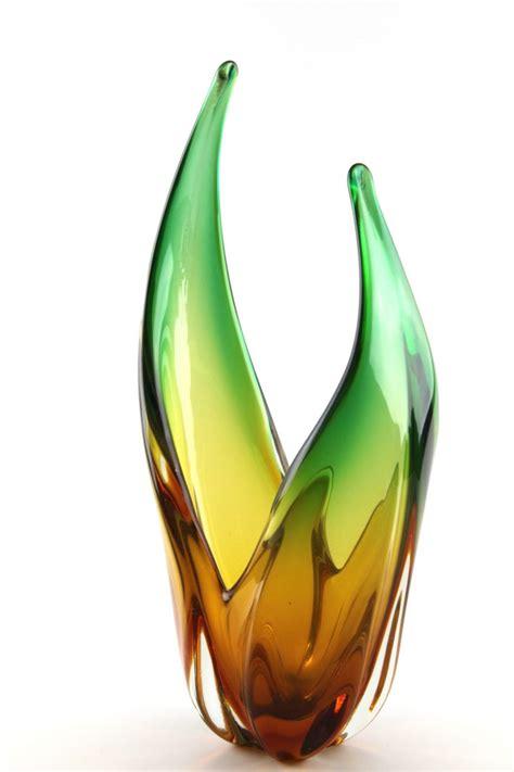 Vase En Verre Vase En Verre De Murano 1950s En Vente Sur Pamono