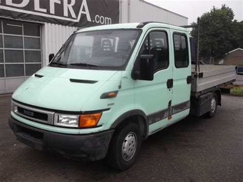 Iveco Daily 35s11 Crew Cab Open Body Delivery Van From