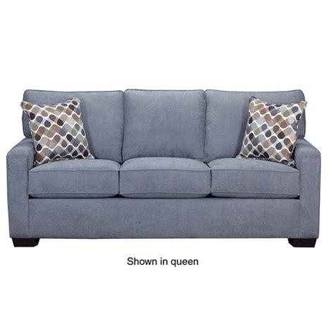 Mini Sleeper Sofa by Simmons Upholstery 9025 Mini Sleeper Sofa Denim Abc Warehouse