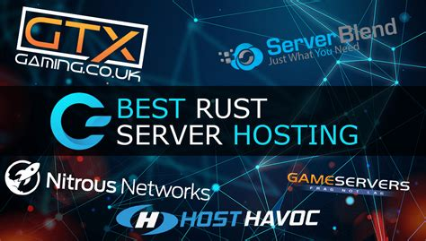 providers rust hosting server
