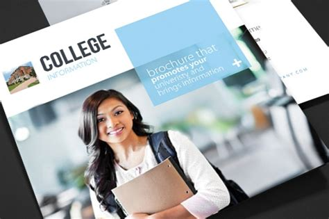 college brochures printable psd ai indesign