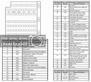 2002 Mustang Fuse Panel Diagram  Need To Replace Radio