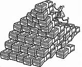 Money Coloring Pages Stack Sheet Stacks Drawing Getdrawings sketch template
