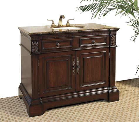 42 inch vanity cabinet only 42 inch marble top bathroom vanity cherry in bathroom