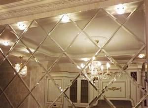 Mirror Walls: Plastic Panels and Tiles Home Interior