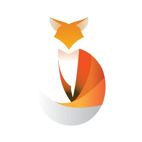fox logo animal  behance fox pinterest behance