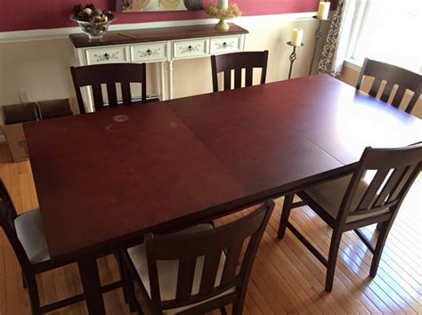 shopping for my new dining room at raymour flanigan