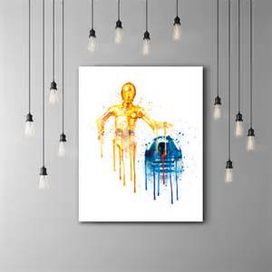 r2d2 and c3po star wars kids room poster star wars c3po r2d2