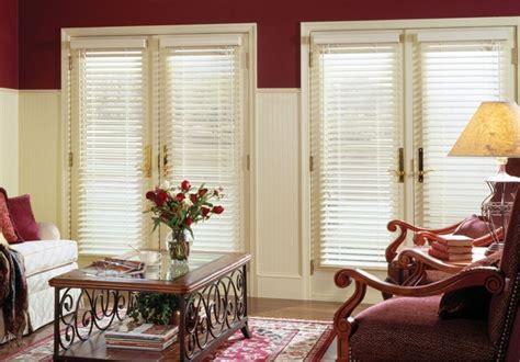 white wooden blinds for patio doors venecianas de
